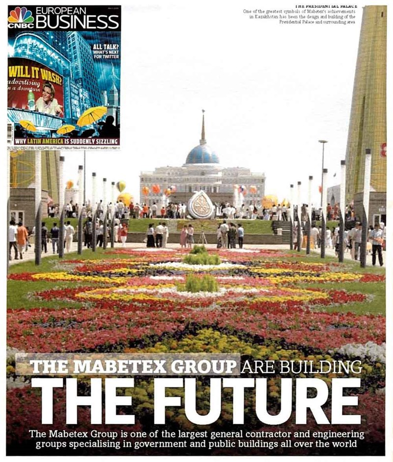 Mabetex  Group are building the future