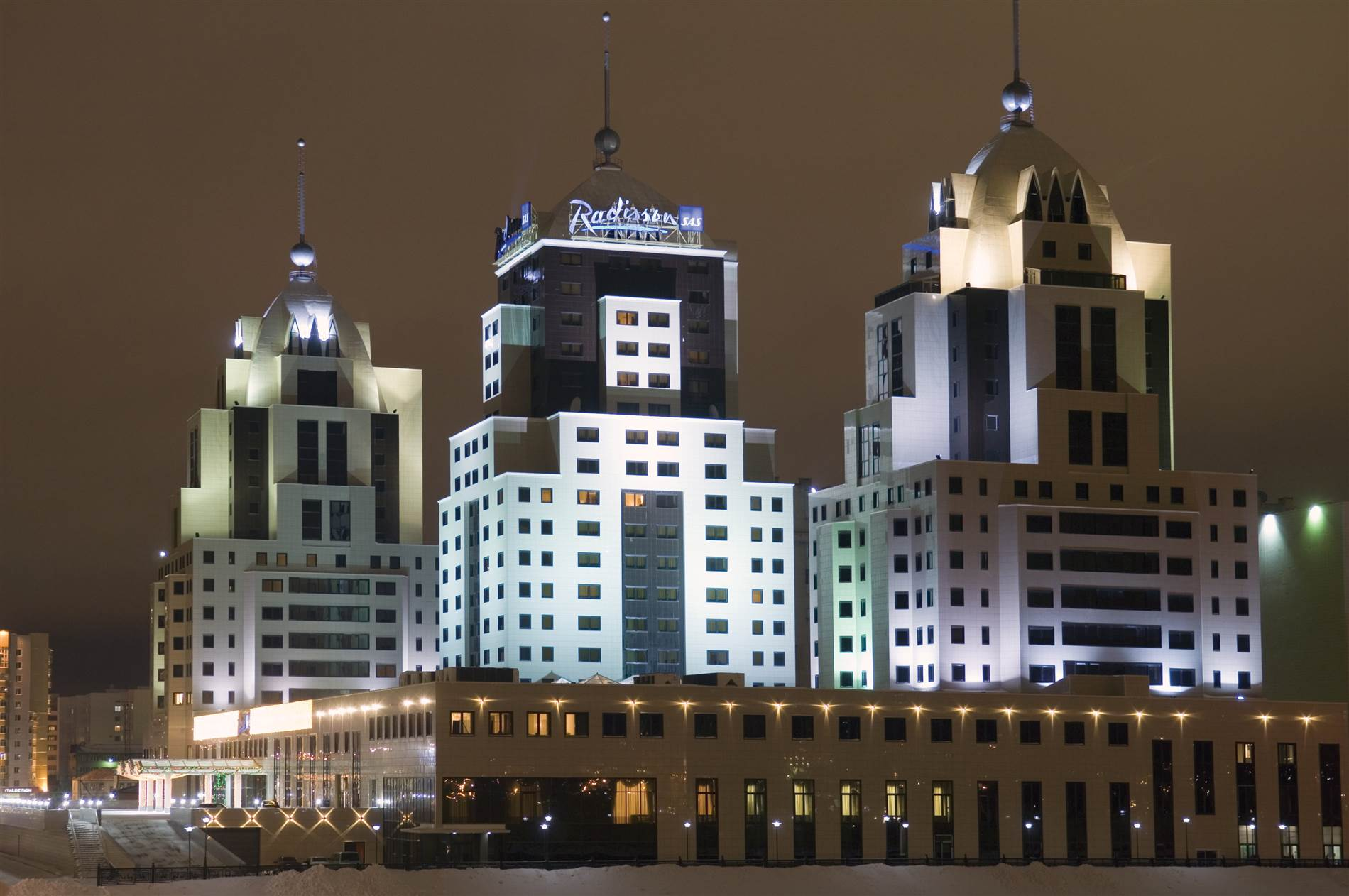5-Star Radisson Hotel and Shopping Center Arman
