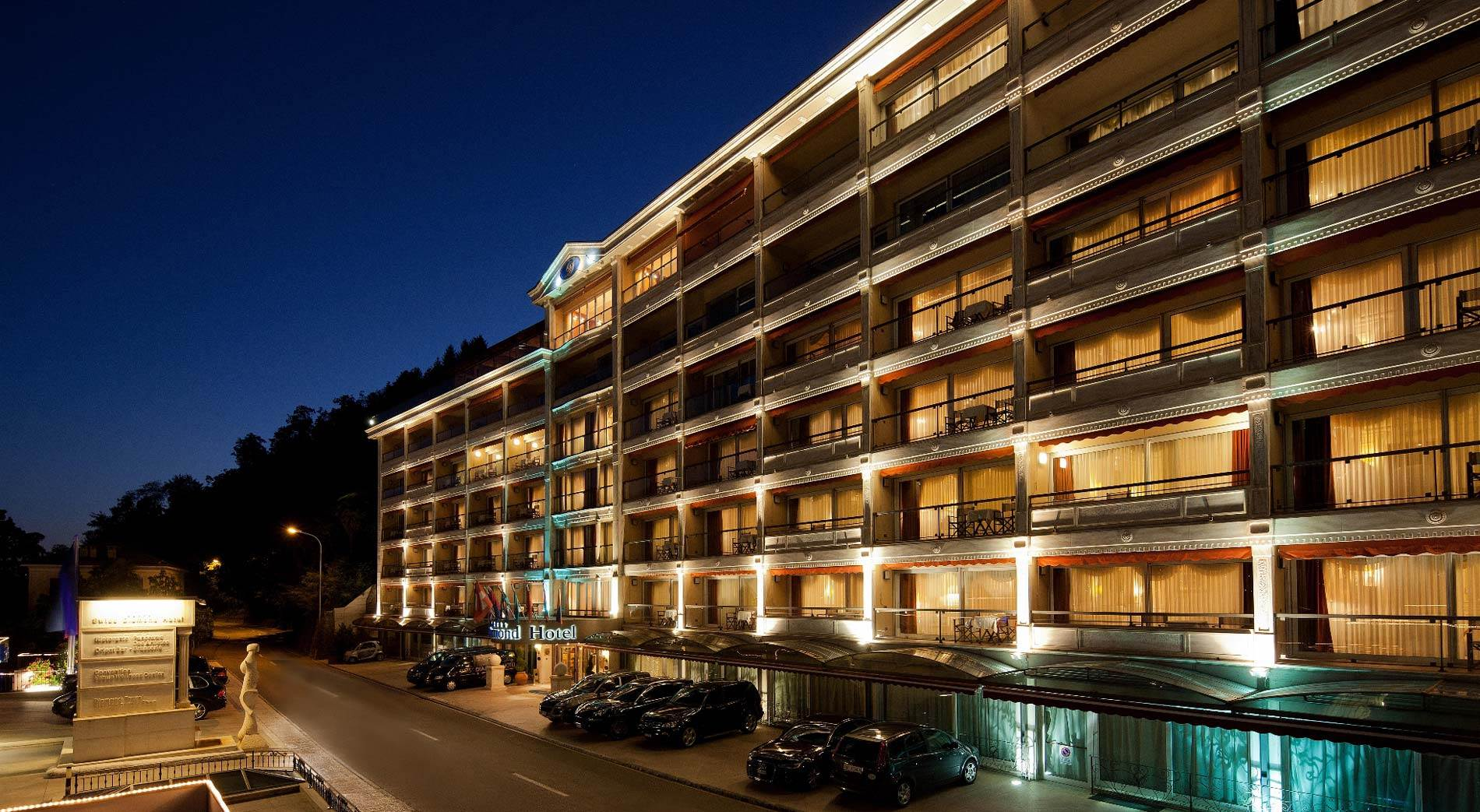 5-Star Swiss Diamond Hotel Lugano Switzerland